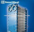 Gasketed placa deintercambiador de calor/evaporador de la placa