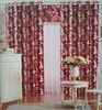 100%Polyester latest popular Fabric Curtain Leaf Jacquard for Window Curtain Design