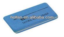 Azul branco lápis borracha