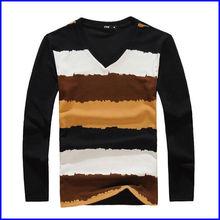 USE-5 wholesale polka dot long sleeves shirt for men