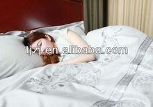 Negative ions 4 pcs bedding set (quilt cover , bedsheet, pillow cover)