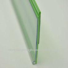 colored data strip plastic clip