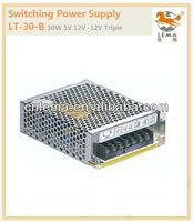 LT-30-B 30W 5V 12V -12V Triple output SMPS switching power supply