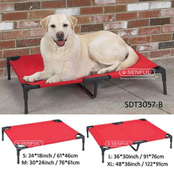 Oxford & Mesh Pet Cot Foldable Dog Bed
