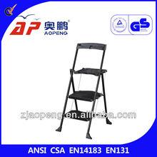 adult plastic step stools has tool tary AP-1212T