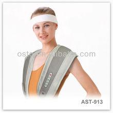 Back and Shoulder Support Massager Belt AST-913 CE/RoHS