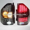 Para mitsubishi montero pajero v73 led lámparas de cola 2000-08 año todo de color negro