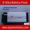 36V/48V 10Ah/20Ah electric bike lithium battery Sliver Fish Style for vehicle