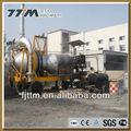 T 10/h móvil de asfalto de la planta de reciclaje rqb-10