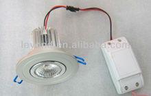 2012 Best Selling COB Anti-glare CRI>90 Bridgelux 45mil chip Patent DIWL Lens 9w led ceiling light HOT!!!