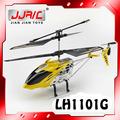 Une couleur lh1101g 3.5ch mjx alliage hélicoptère rc