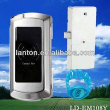 CE ROHS FCC Zinc Alloy electronic locks for lockers