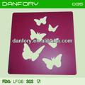 de plástico de la mariposa decoración de pasteles de la plantilla
