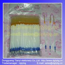 silver refill pen can washing pen ,legther marker pen