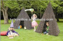 wicker furniture game for children factory supply wicker basket