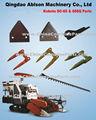 Kubota dc-60& 688q piezas para la máquina cosechadora