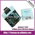 Aircard 312u hspa+/hspa 42 mbps sierra 3g módem inalámbrico, 3g aircard usb módem, 3g usb tarjeta de datos