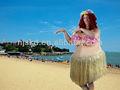 hawai sexy mujer gorda adultos traje de fiesta
