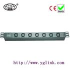 7ways with lightning protection IEC C13 type PDU socket for cabinet IEC C13 socket IEC PDU