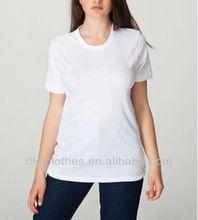 Women Plain Blank Pure Color Cotton T Shirt for Middle Aged Women 2014