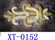 Grama bordados à mão charter / grama handmade charter / grama fio de cobre bordado carta