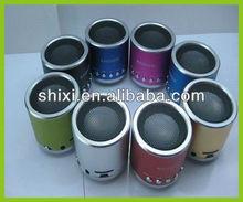 Aluminium alloy mini speaker