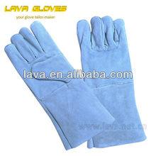 """14"""" cowhide leather welders glove"""