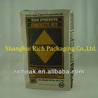 Multi-layer high strength pasted bottom mortar kraft paper bag