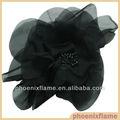 cinta de raso flores hechas a mano