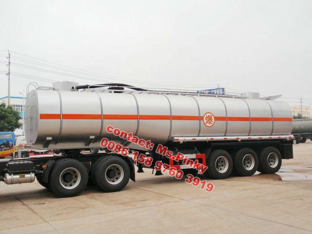 35000L Liquid Asphalt heated bitumen transport / transportation bitumen tank semi trailer