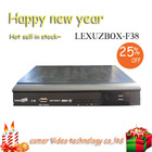 decodificador digital cable tv receiver lexuzbox F38 in stock