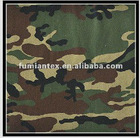 "Poly/cotton 65/35 3/1 200GSM 58/59"" camouflage twill fabric"