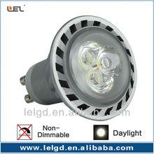 ushine light science and technology shanghai lamp enery saving 3*1w GU10 mr16 warm white led spot light /CE&RoHS