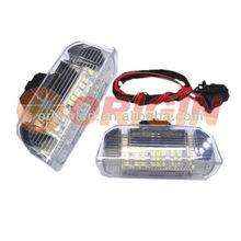 Hot Car accessories led door light for VW Golf 5 6 plus/Jetta/Passat/Sharan/EOS/Touareg,for Skoda Superb,Seat,Porsche Cayenne