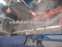 PE PP waste film agglomerator machine