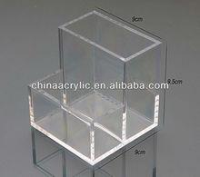 Multi-purpose Clear Acrylic Organizers/Hot Sale Acrylic Clear Cube Makeup Organizer