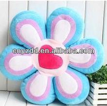 plush flower pillows