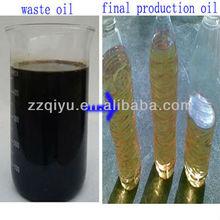 environment friendly waste oil distillation plant