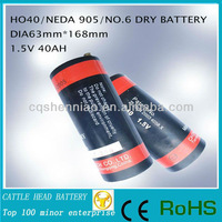 New battery replacement for EN6 ANSI / NEDA 906AC 906 Ignition Battery