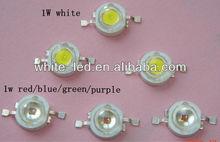 3w led purple white 660nm red green blue 450nm plant grow light