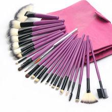 Pro Purple 24 pcs China Makeup Brush Set Makeup Kit
