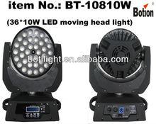 zoom led moving head wash / 36*10w LED moving head light / led stage light