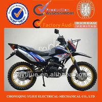 2013 New Design 200cc/250cc Powerful Dirt Bike/Brazil Dirt Bike Double Muffler Inverted Shock