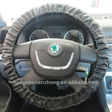 Leather Car steering wheel cover factory normal design