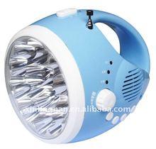wind- up flashlight radio & iphone charger & emergency hurricane lanterns