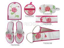 floral bath set/ bath accessories