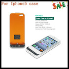 Hot selling for iphone5 power case