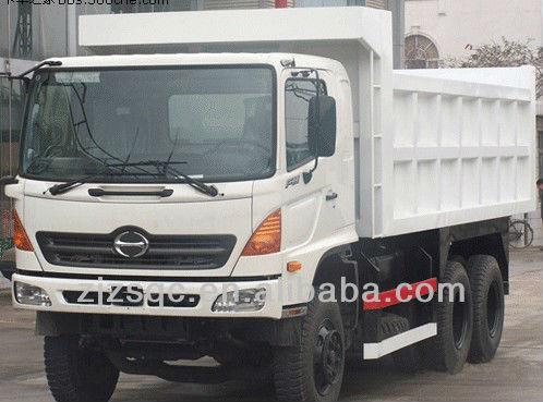 japan hino used tipper dump trucks