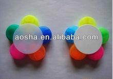 Mini 5 colors flower style highlighter pen sets