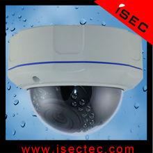 Vandal Proof IR Outdoor Security Dome Cameras with Aluminium Body